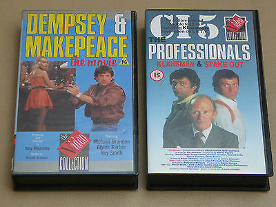 L@@K > V Rare Dempsey And Makepeace The Movie + The Professionals Ci5. 80S. Tv !