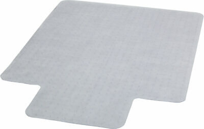 Office Chair Mat Carpet Protector  45'' X 53''   Slip Resistant Clear Vinyl