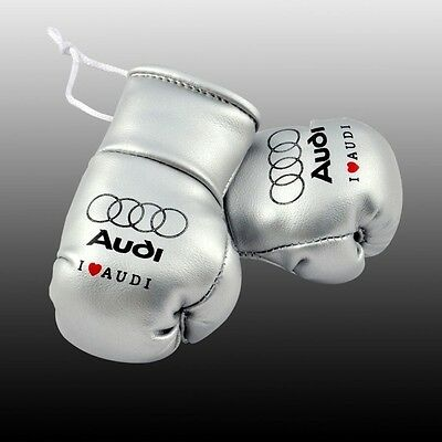 Audi Bmw Vw Mercedes Mini Boxing Gloves For The Rear View Mirror Of Your Car
