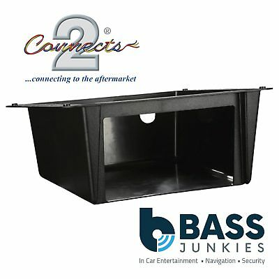 CAMPERS & CARAVANS Double DIN Car Stereo Under Tray Pocket Fascia Mounting Plate