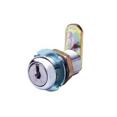 Firstlock Cam Lock NX32RKA Round 32mm 5 Disc KA Letterbox Cabinet Cupboard