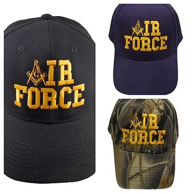 Air Force Mason Hat Cap Embroidered in the USA 880PC