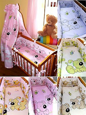 BRAND NEW CRADLE / CRIB BABY bedding,bumper set , MANY DESIGNS, 2 OPTIONS ,