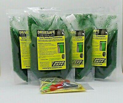 Tyre Sealant Puncture Prevention For Vans / Motorhomes, 1 X Van Pack