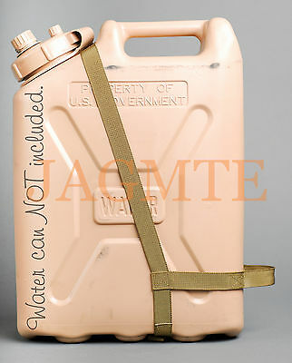 EASY POUR STRAP Water Brown for your Scepter MWC & LCI Military WATER Can