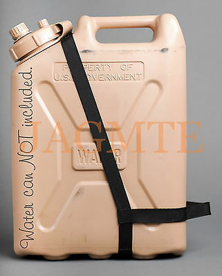 EASY POUR STRAP Water Black for your Scepter MWC & LCI Military WATER Can