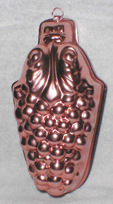Grape Bunch Jell-O Mold Copper Color!