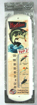 "Heddon Take Along The ""top 3"" Metal Alcohol Thermometer, New! Great Gift For Dad"