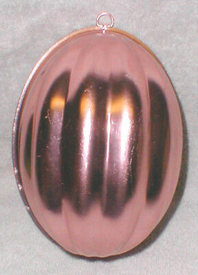 Melon Shaped Metal Jell-O Mold, 2 1/2 Cups, Copper Color