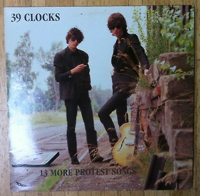 39 CLOCKS 13 More Protest Songs LP/GER