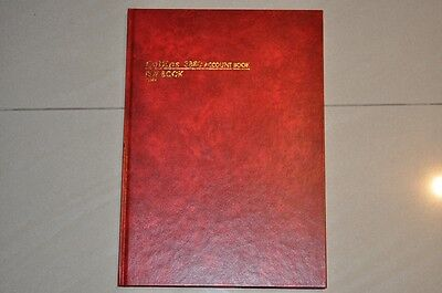 Collins 3880 Account Day Book 10849 Hard Cover