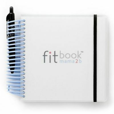 Pregnancy Nutrition & Fitness Planner Diary Journal Pregnant Gift FITBOOK