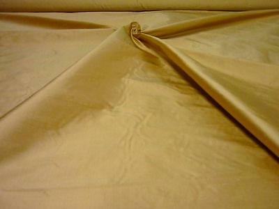 "Pure Silk Dupion Fabric`Dreams` 54"" Wide Hazel cut from roll half metre price"