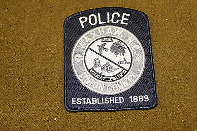 18296) US Patch Union County, Waxhaw North Carolina Police Insignia Sheriff