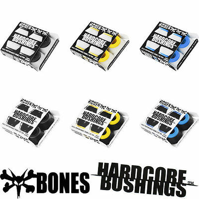 BONES Bushings 4pk Hardcore Cushions FREE POST NEW Skateboard Truck Rubbers