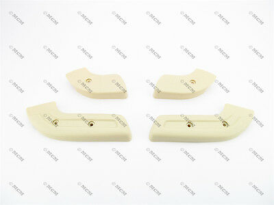68 69 70 Ford Mustang Seat Hinge Cover, NEUTRAL, 4pc set