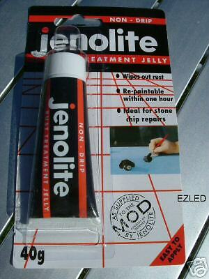 Jenolite Non Drip Jelly Rust Remover for Car Paintwork
