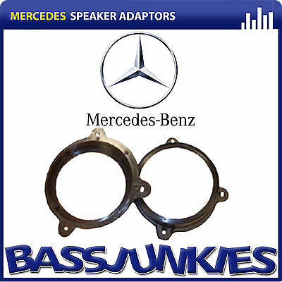 CT25MC02 Mercedes A Class 1997 ON Car Speaker Fitting Adapter Front Door 165MM