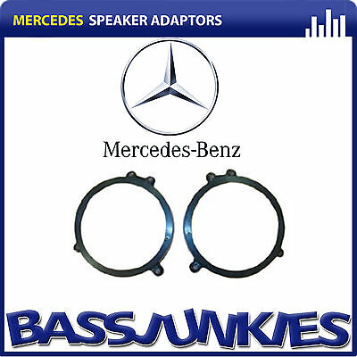 CT25MC05 Mercedes C Class 2000-2006 Car Speaker Fitting Adapter Front 165MM