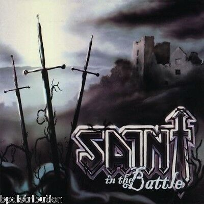 SAINT - IN THE BATTLE (*NEW-CD, 2011, Retroactive) Christian Metal Digipak