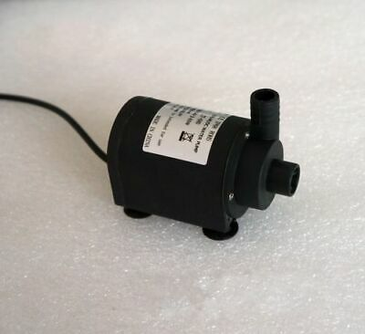 DC 6V-24V Submersible Brushless Water Pump for Solar Fountain Cooling 7M 1200L/H