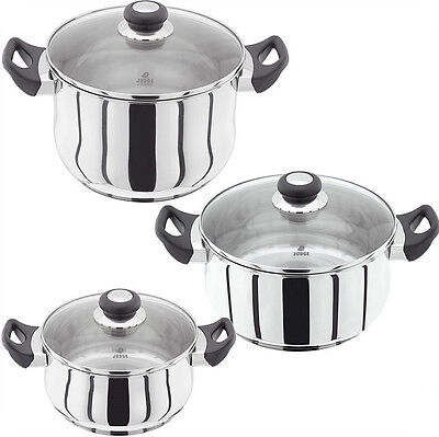 Judge Vista Pan  Saucepan Stainless Steel Casserole Or Stockpot