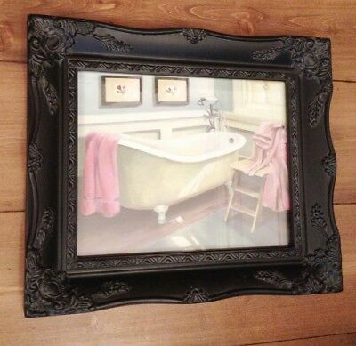 SHABBY CHIC ORNATE 8 x 10 PICTURE FRAME ANTIQUE BLACK IVORY GOLD SILVER OR WHITE