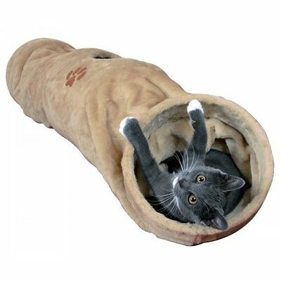 NEW Large Cat Tunnel Plush Crunch Cats Kittens 125 cm