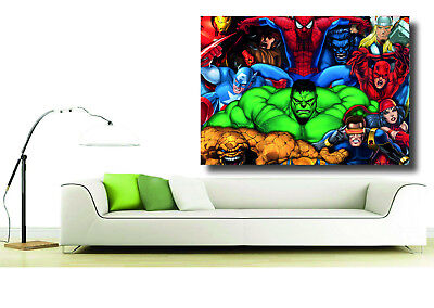 Marvel Super Hero's Giant 1 Piece  Wall Art Poster VG135