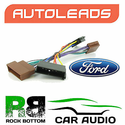 Autoleads PC2-08-4 Ford Mondeo 93 - 03 Car Stereo ISO Adaptor Lead Wire Harness