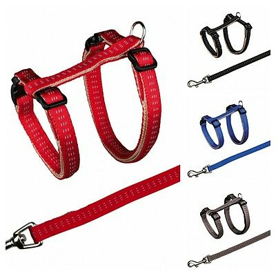 Cat Harness And Lead Set Nylon 4195