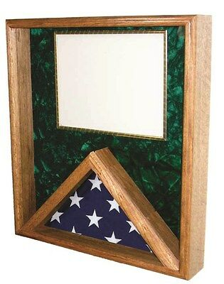 Flag & Certificate Display Case Shadow Box - for 3x5ft Flag