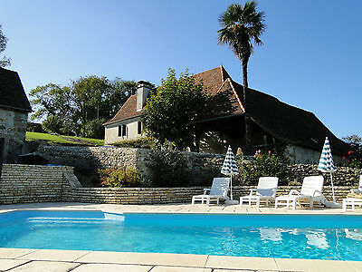 Cottage 4 ears registered with Gîtes de France, private and heated pool