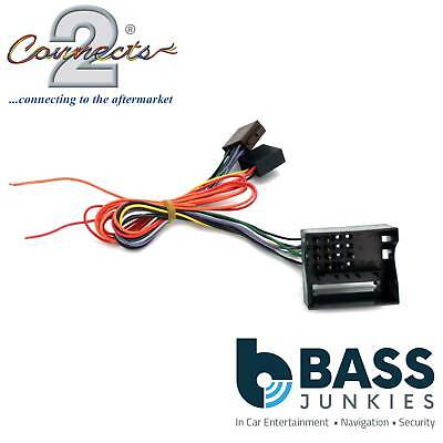 Connects2 CT20CT02 Citroen C4 04> Car Stereo Radio ISO Harness Adaptor Wiring
