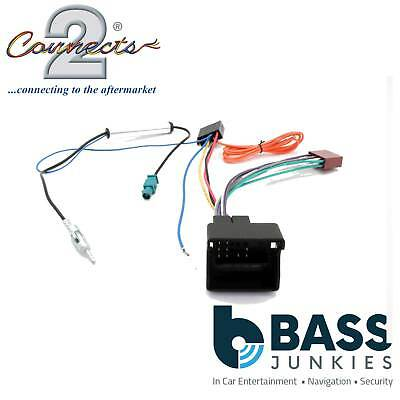 Connects2 CT20CT03 Citroen C2 2004> Car Stereo Radio ISO Harness Adaptor Wiring