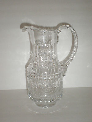Beautiful Vintage Crystal Pitcher