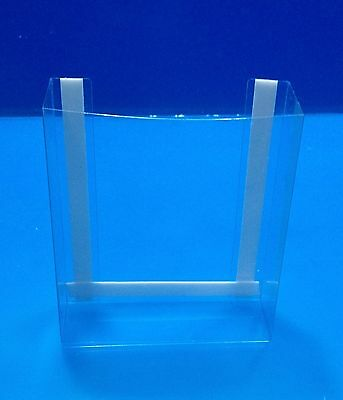 NEW! 500 Clear tri fold brochure holders. These will mount to any flat surface!