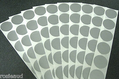 60 Scratch Off Silver Stickers Make Your Own Scratchies Baby Showers Discounts