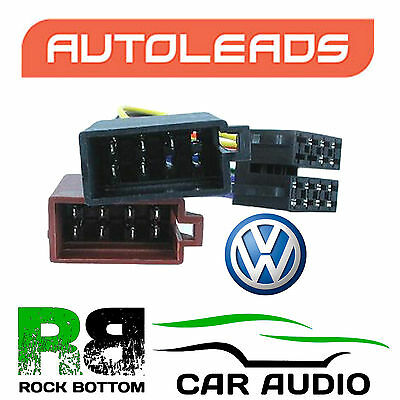 Autoleads PC2-18-4 Volkswagen Polo 81 - 94 Car Stereo ISO Lead Wire Loom Plug