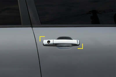 For SsangYong Rexton 2002 - 2013 Chrome Exterior Door Handle Covers Trim