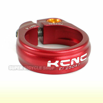 KCNC SC9 Seat Post Clamp 7075 Alloy , 31.8mm , Red