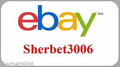 130 x Personalised Stickers Ebay ID Logo Mini Labels