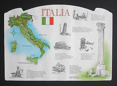Paper Placemats 100 Pack Italy Design Free Shipping