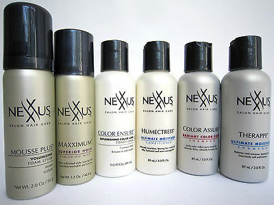 NEXXUS Salon Hair Care Shampoo Conditioner Mousse Hold - VARIETY to CHOOSE