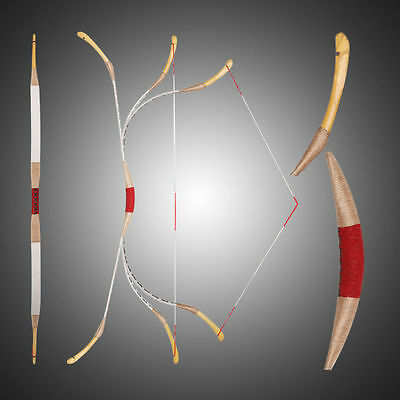 Handmade Kids Bow Archery Hungarian Style Chinese Longbow For Beginner 10-25LBS