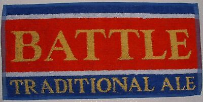 Battle Traditional Ale bar towel - New