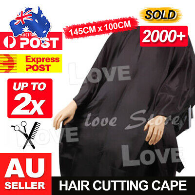 OZ Barber Gown Cloth 2x Hair Cutting Hairdressing Cape Nylon Styling Pro Salon