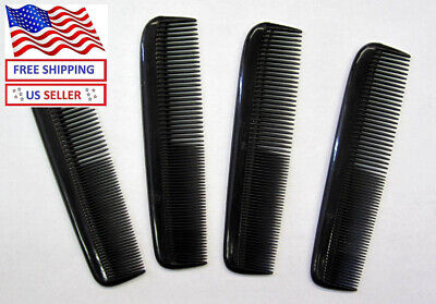 "LOT OF 2, 4,12,24,72 PCS--BLACK COLOR 5 ""  POCKET HAIR STYLING COMB---CM27B"