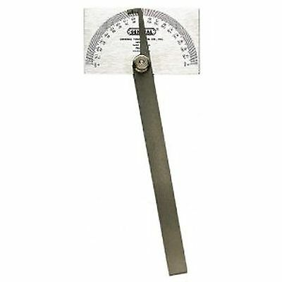 Steel Precision Protractor Gauge Machinist Square Head Protracter Gage Tool New!