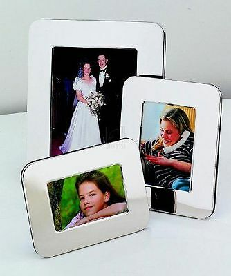 NEW Sheridan 4 x 6 Silver Toned Picture Frame Engravable Non Tarnish